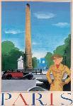 Affiche vintage de Paris