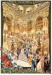 Affiche ancinne de l'Opéra de Paris