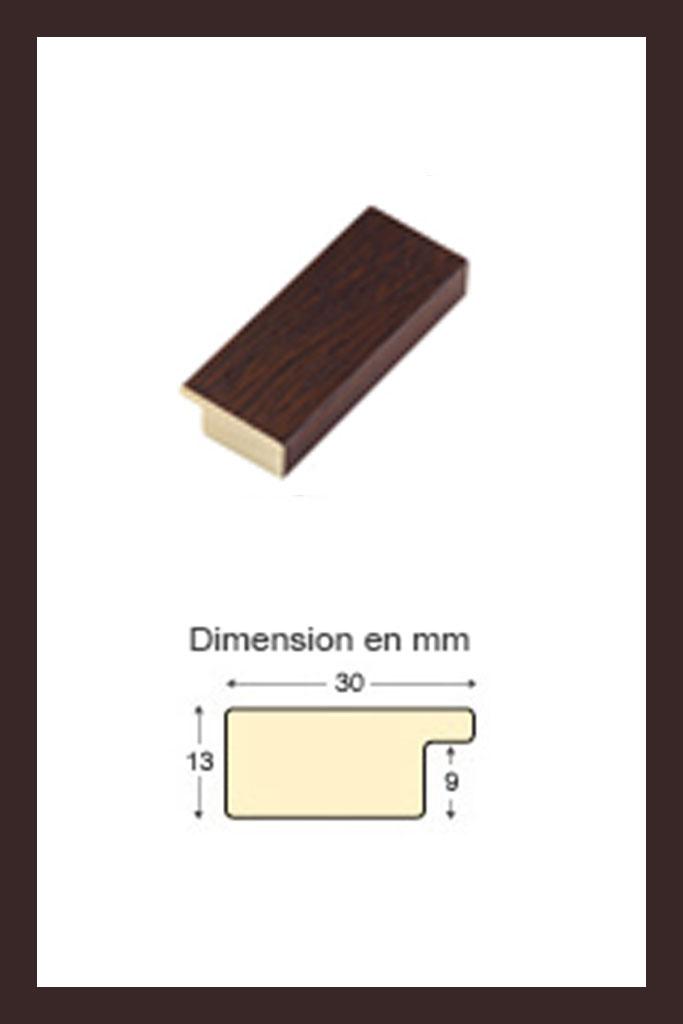 Cadre en bois wengé