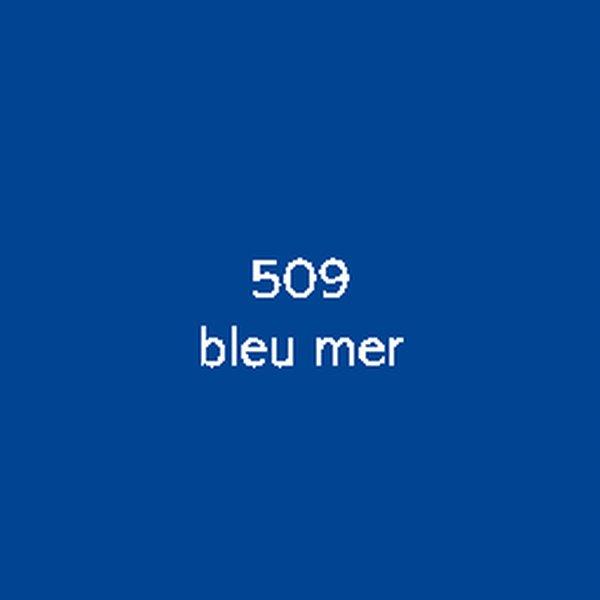 Sticker autocollant film polymère bleu mer brillant