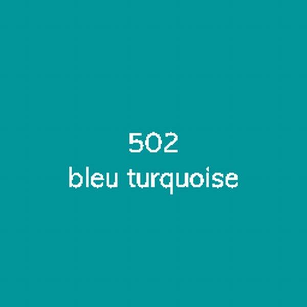 Sticker autocollant film polymère bleu turquoise brillant