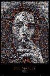 Affiche mosaique de Bob Marley
