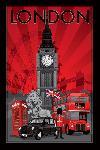 Poster de Londres (Decoscape)