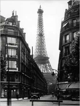 poster une rue de paris vers 1965 acheter poster une rue de paris vers 1965 136 affiches. Black Bedroom Furniture Sets. Home Design Ideas