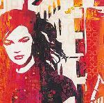 Affiche d'art de Melissa PLUCH Urban Girl detail