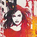 Affiche d'art de Melissa PLUCH City Girl detail