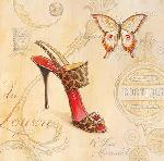 Affiche d'art de Angela STAEHLING Sling back stiletto