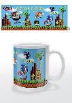 Mugs Sonic the hedgehog (pixelated level)