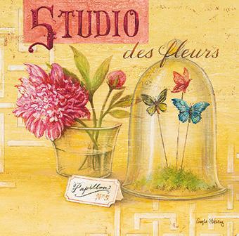affiche d 39 art de angela staehling studio des fleurs acheter affiche d 39 art de angela staehling. Black Bedroom Furniture Sets. Home Design Ideas