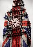 Cartes postales Big ben (union jack)