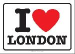 Cartes postales I love london