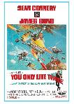 Cartes postales James bond - you only live twice