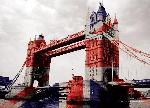 Cartes postales Tower bridge (union jack)
