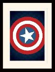Photos encadrées Avengers assemble (captain america shield)