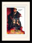 Photos encadrées James bond (license to kill one-sheet)
