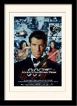Photos encadrées James bond (tomorrow never dies one-sheet)
