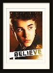 Photos encadrées Justin bieber - believe ?