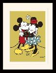 Photos encadrées Mickey & minnie mouse (true love)
