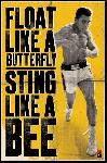 Affiche Mohamed Ali (Float Like A Butterfly)