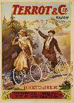 Poster ancien de Francisco TAMAGNO Terrot & Cie Dijon