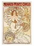 Affiche ancienne de Alphonse MUCHA Monte-Carlo