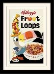Photos encadrées Vintage kelloggs (fruit loops) ?