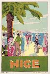 Affiche vintage José LORENZI Nice