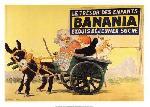 Affiche ancienne de Georges MEUNIER Banania le trésor des enfant