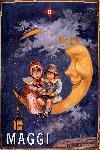 Affiche vintage d'une publicité Maggi style rétro