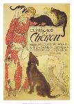 Affiche vintage de Théophile Alexandre STEINLEN Clinique Chéron