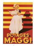 Affiche ancienne de GAILLARD Potages Maggi