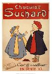 Affiche ancienne Chocolat Suchard