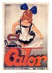 Affiche vintage de FAVRE Calor