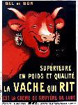 Affiche vintage de Benjamin RABIER Vache qui rit