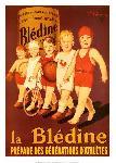 Affiche ancienne de Henry LE MONNIER Bledine