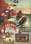 Affiche vintage de Hugo D'ALESI Bretagne