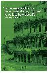Affiche verte du colisée de Rome