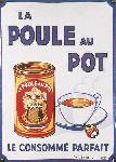 Affiche publicitaire de DORFINANT La Poule au Pot