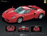 Poster voiture Ferrari (Enzo)