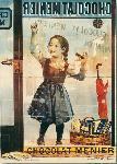 Affiche publicitaire de Firmin Etienne BOUISSET Chocolat Menier