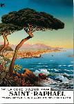 Affiche ancienne de MOREL DE TANGUY Saint Raphaël