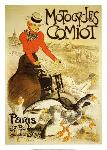 Affiche ancienne de T. A. STEINLEN Motocycles Comiot