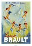 Affiche vintage de Philippe NOYER Limonade Brault