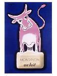 Affiche vintage de Raymond SAVIGNAC Monsavon au lait