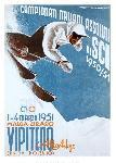 Affiche vintage de Frantz LENHART Campionati Italiani Assoluti