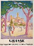 Affiche publicitaire de Roger BRODERS Grasse