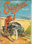 Affiche ancienne de NYCK Motocycles Terrot