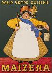Affiche ancienne de OGE Maizena