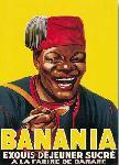 Affiche vintage Banania
