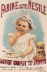Affiche publicitaire Farine lactée Nestlé